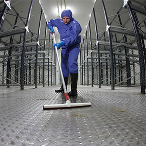 Warehouse Mechanized Cleaning