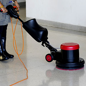 Showrooms Mechanized Cleaning